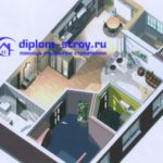 3д план здания