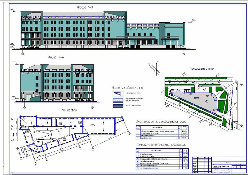 3. Здание налоговой инспекции г.Белогорск
