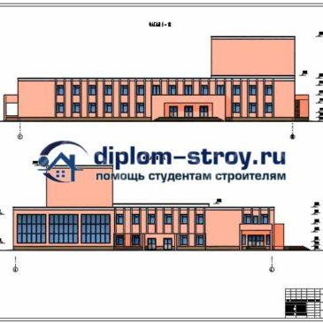 Деревянные конструкции diplom stroy ru Проект сельского дома культуры