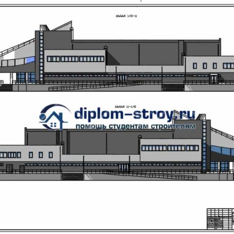 Дипломный проект кинотеатр