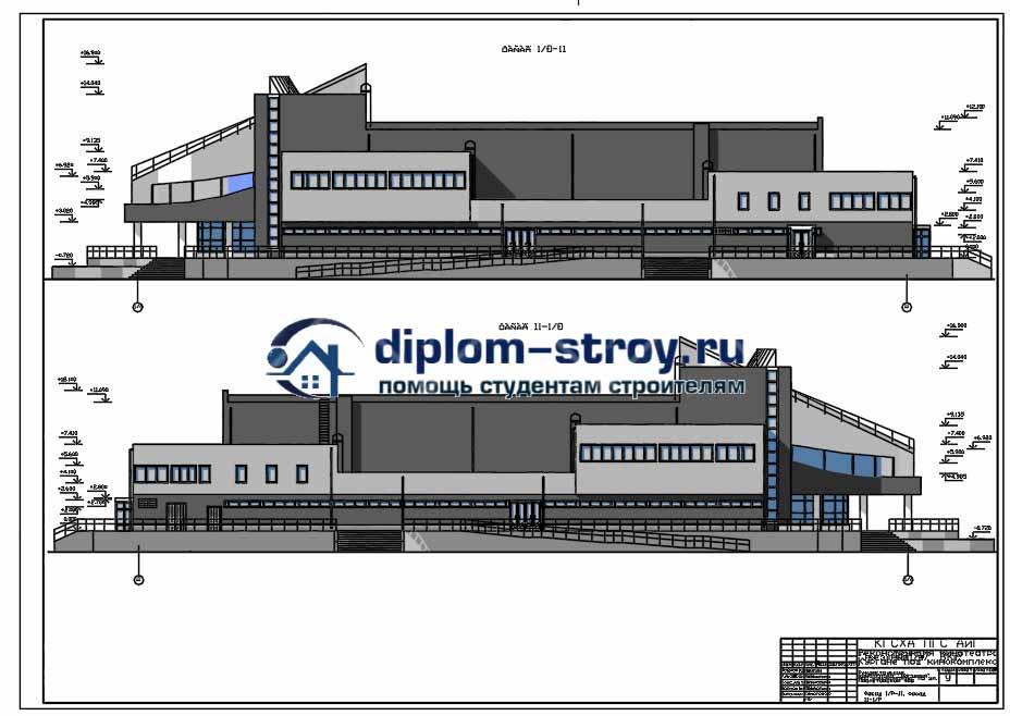 25. Проект строительства кинотеатра, реконструкция