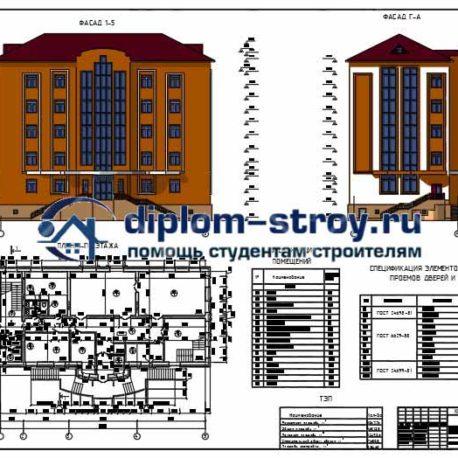 фасад учебного центра