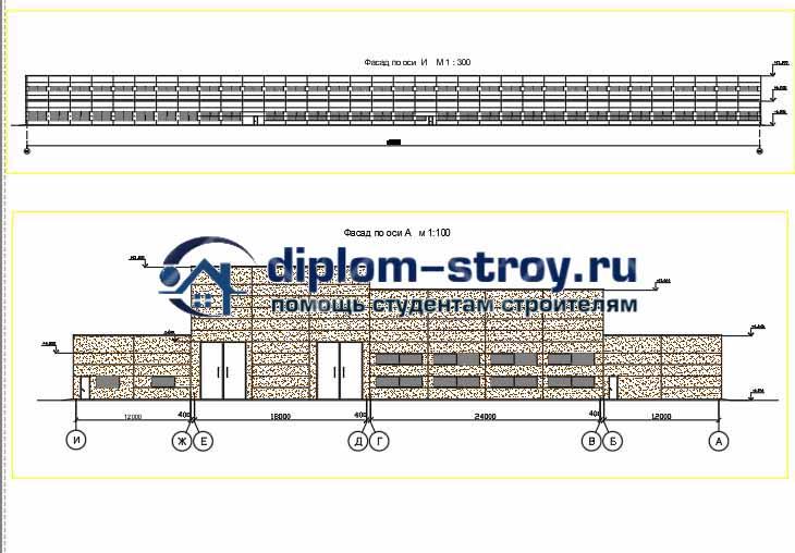 41. Дипломный проект строительство производственного корпуса депо для ремонта полувагонов