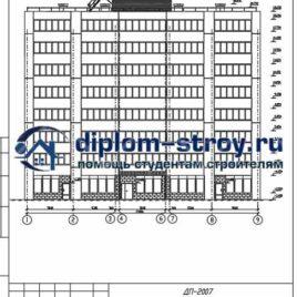 71. 8 – ми этажный 63-х квартирный жилой дом дипломный проект