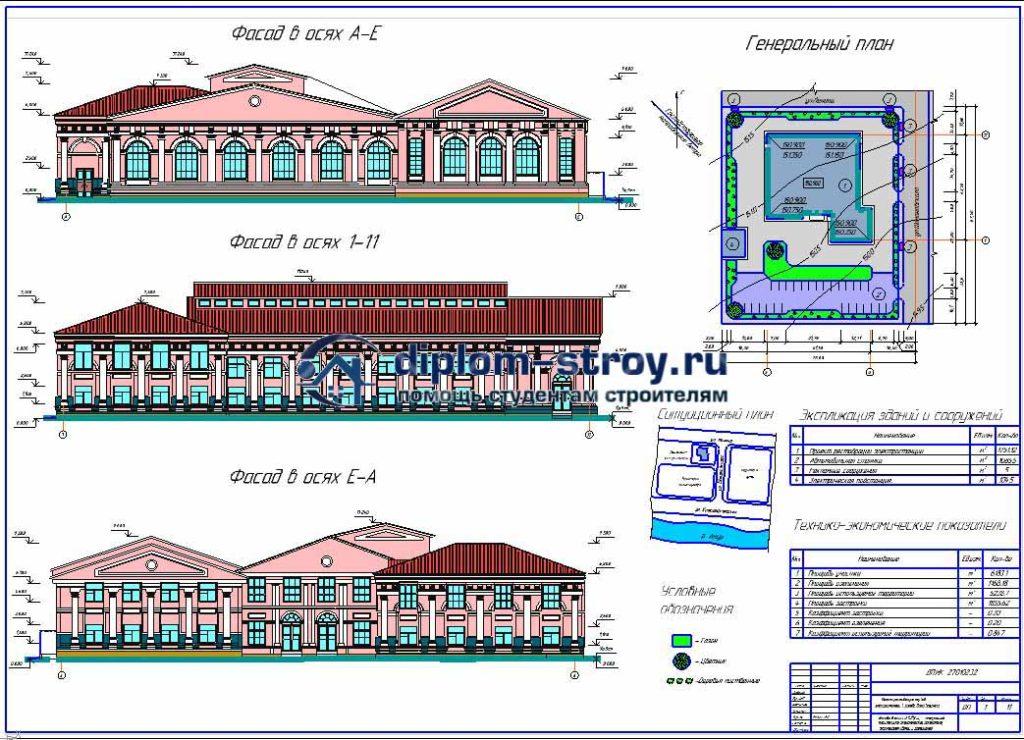 52. Проект реставрации электростанции под казино и офисы