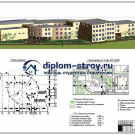 Школа, дипломная работа строительство
