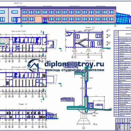 дипломный проект станции техобслуживания